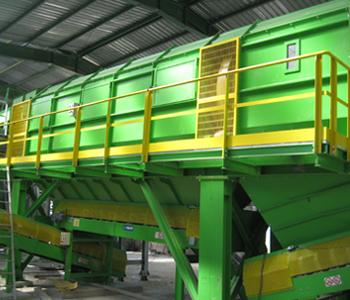 Sita obrotowe - Maszyny do recyklingu